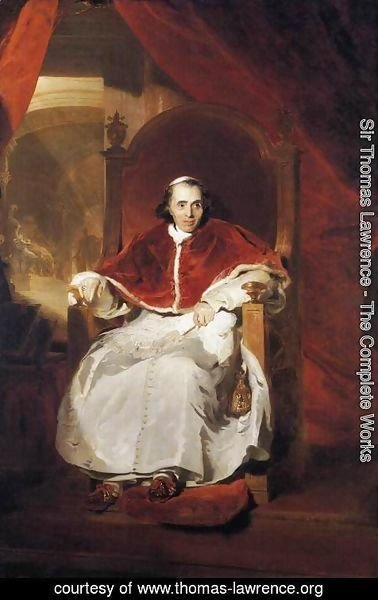 Sir Thomas Lawrence - Pope Pius VII  1819