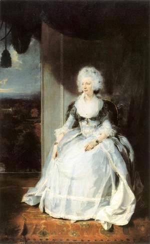 Sir Thomas Lawrence - Queen Charlotte 1789-90