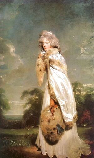 Sir Thomas Lawrence - Elisabeth Farren, Later Countess of Derby