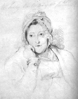 Portrait of Mrs. Linley  1790