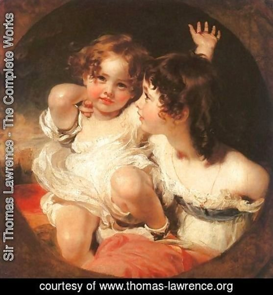 Sir Thomas Lawrence - The Calmady Children  1824