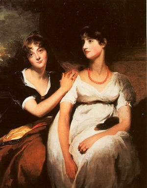 Sir Thomas Lawrence - The Daughters of Colonel Thomas Carteret Hardy  1801