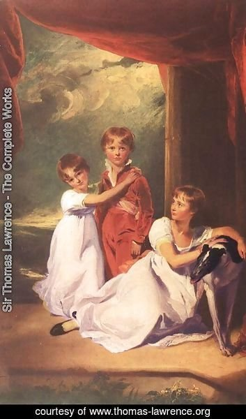 Sir Thomas Lawrence - The Fluyder Children  1805